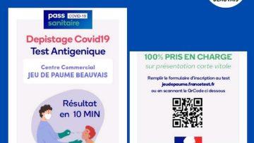Dépistage test antigénique COVID-19